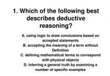 deductive reasoning for CLAT