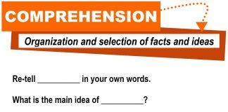 English Language Sample Questions on Reading Comprehension