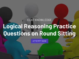 Logical Reasoning Practice Questions on Round Sitting
