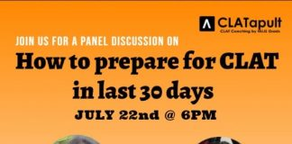 panel discussion on how to prepare for clat in 30 days