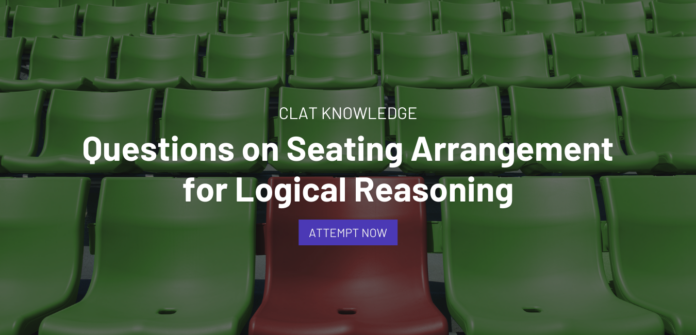 Questions on Seating Arrangement for Logical Reasoning