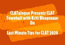 last minute tips for clat 2020