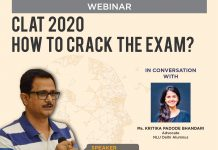 IFIM Law School is proud to present Mr. Rajneesh Singh, a renowned CLAT mentor. Join us as he shares his tricks and tips with students on how to crack the CLAT 2020.