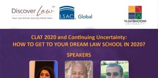 Vijaybhoomi School of Law's Webinar on CLAT 2020