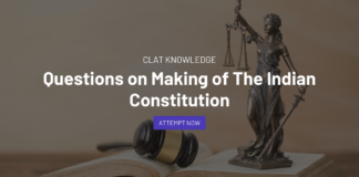 Questions on making of Indian Constitution