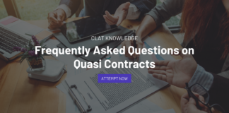 Questions on Quasi Contracts