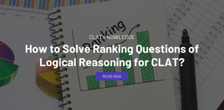 How to Solve Ranking Questions of Logical Reasoning for CLAT?