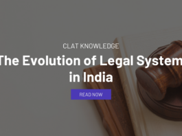 Evolution of Legal System in India