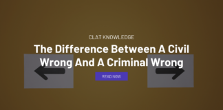 difference between civil wrong and criminal wrong