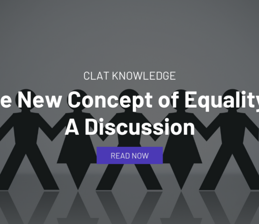 The New Concept of Equality - A Discussion