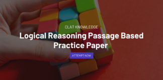 Logical Reasoning Passage Based Practice Paper for CLAT 2022