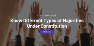 Know Different Types of Majorities Under Constitution