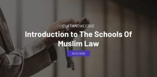 Introduction to The Schools Of Muslim Law