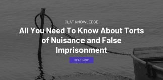 All You Need To Know About Torts of Nuisance and False Imprisonment