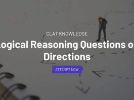 Logical Reasoning Questions on Directions