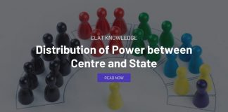 Distribution of Power between Centre and State