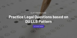 Practice Legal Questions based on DU LLB Pattern