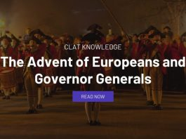The Advent of Europeans and Governor Generals
