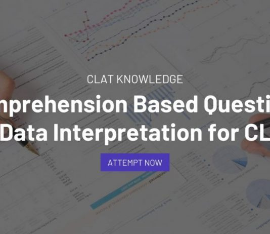 Comprehension Based Questions on Data Interpretation for CLAT