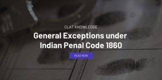 General Exceptions under Indian Penal Code 1860