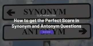 How to get the Perfect Score in Synonym and Antonym Questions