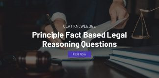 Principle Fact Based Legal Reasoning Questions